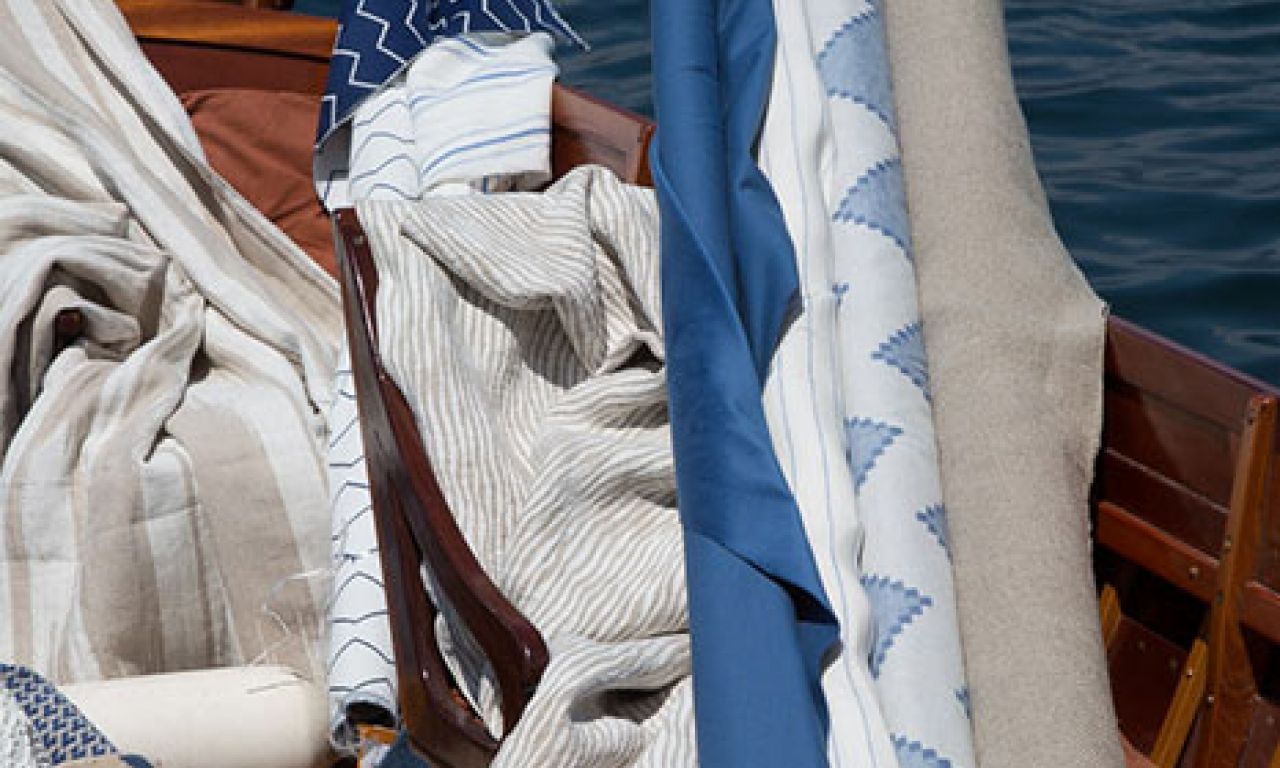 80% of C&C Milano fabric is linen and more than 90% is natural fabric