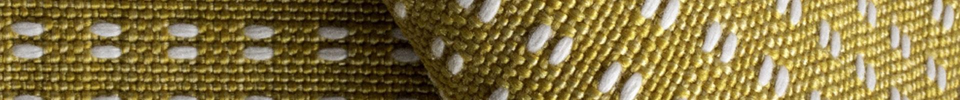 Rua Biloba sunflower white Outdoor fabric