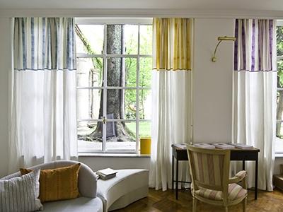 C&C Milano printed curtains