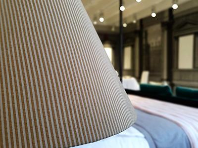Lampshade in Pangea 100% silk